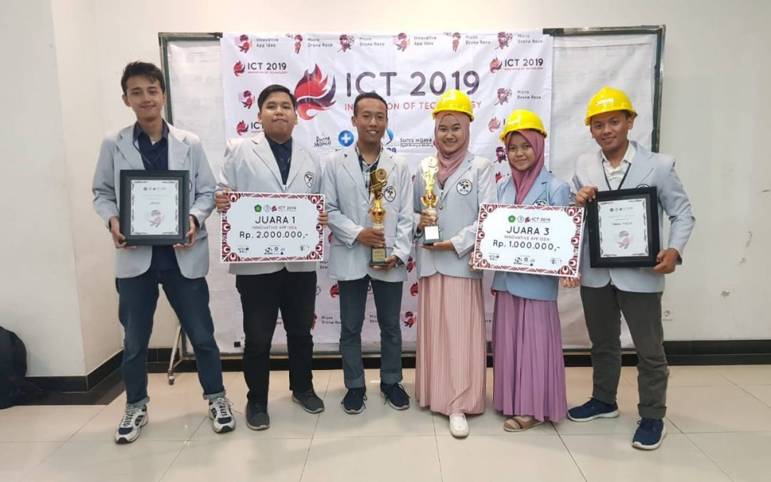 Mahasiswa IT PENS Sabet Dua Juara Innovative App Idea ICT 2019