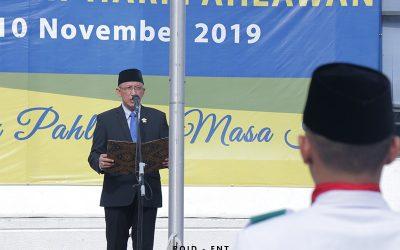 Peringati Hari Pahlawan, PENS Gelar Upacara Bendera