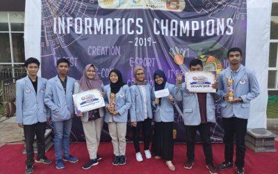 Dua Tim Delegasi PENS Berhasil Raih Penghargaan pada Ajang Informatics Champions