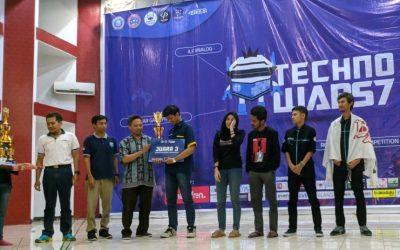 Mahasiswa PENS Sukses Sabet Juara 3 Line Follower Technowars 7 2019