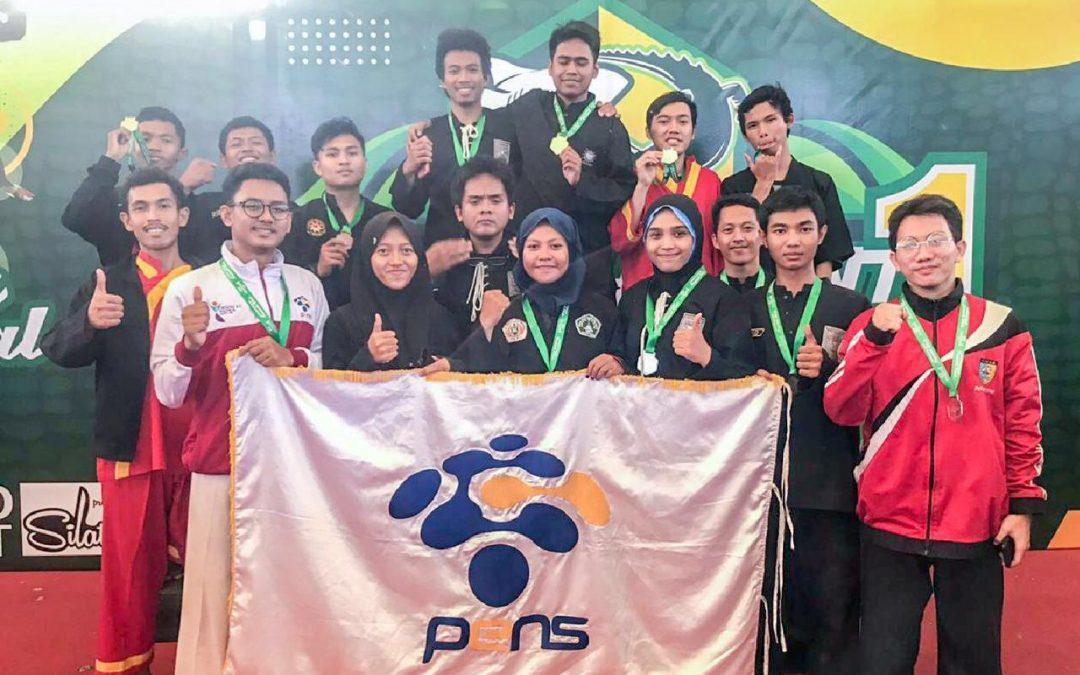 Kontingen PENS Berhasil Sabet 16 Medali Kejurnas Pencak Silat pada Kota Pahlawan Championship