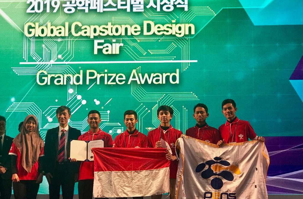 Ciptakan Alat Bantu Tunarungu, Tim PENS Raih Medali Emas dalam E2Festa 2019