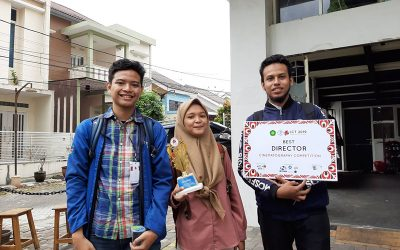Angkat Topik Mental Illness, Video Karya Mahasiswa PENS Raih Penghargaan Best Director di Ajang ICT 2019