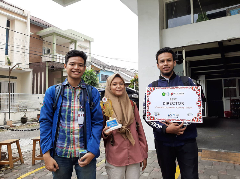 Angkat Topik Mental Illness, Video Karya Mahasiswa PENS Raih Penghargaan Best Director di Ajang ICT 2019