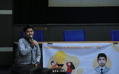 Hadirkan CEO Gainz Teknologi Nusantara, Hima Meka Helat Kuliah Tamu Bisnis Startup