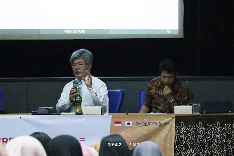 Hadirkan Pemateri dari Nara Institute of Science and Technology Jepang, PICO PENS Helat Kuliah Tamu