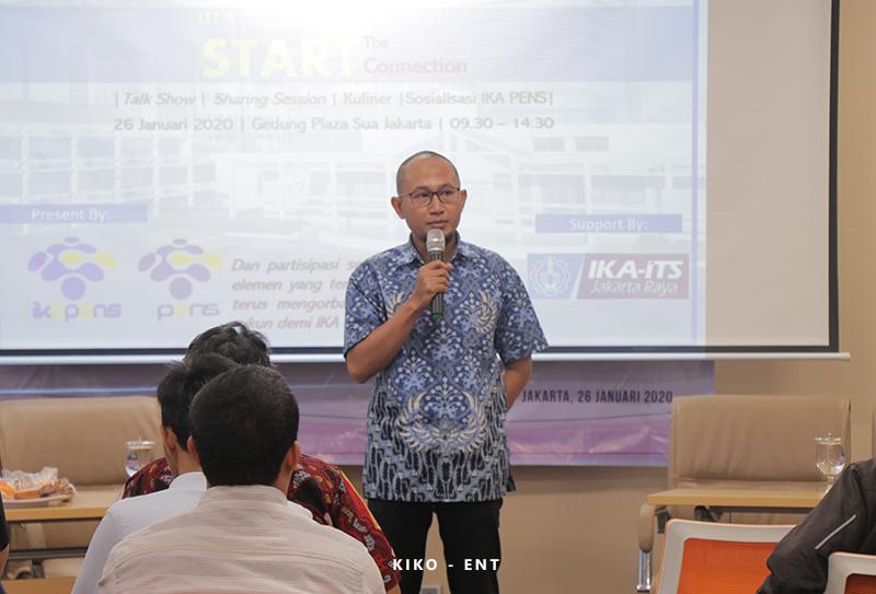 Pererat Tali Silaturahmi Antar Alumni, IKA PENS Helat Alumni Business Summit 2020