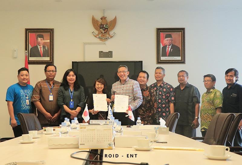 Jalin Kerjasama, PT.  KND Indonesia Wakili Kyodo News Digital Jepang lakukan penandatanganan MoU dengan PENS
