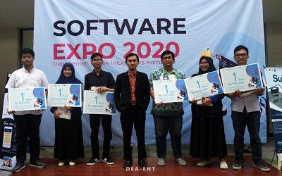 Suguhkan Produk Inovatif Mahasiswa, Software Expo 2020 Libatkan Pihak Industri
