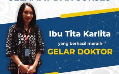 Tita Karlita Ikuti Jejak Arna Fariza Raih Gelar Doktor di ITS