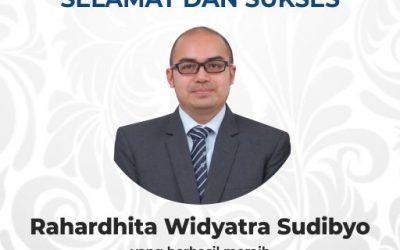 Rahardhita Widyatra Dosen Prodi Teknik Telekomunikasi Raih Gelar Doktor di Okayama University