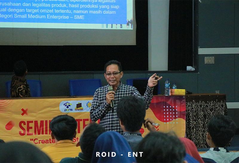 Perkuat Motivasi Wirausaha Mahasiswa melalui Seminar Teknologi Bertajuk Startup 2020