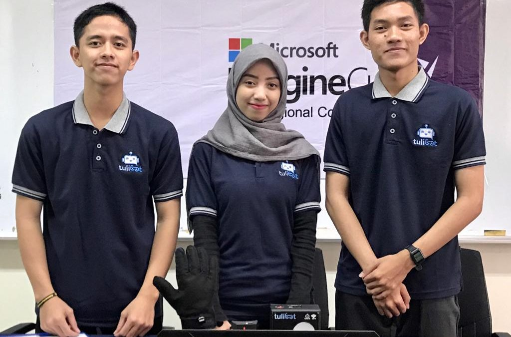 Tim Tulibot PENS Raih First Runner Up Microsoft Imagine Cup 2020