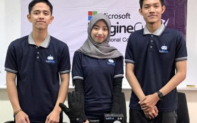 Tim Tulibot PENS Raih First Runner Up Microsoft Imagine Cup 2020