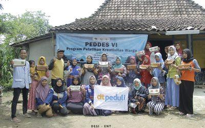 Pelatihan Kreatifitas Warga Jadi Sorotan Kegiatan Peduli Desa Jilid VI