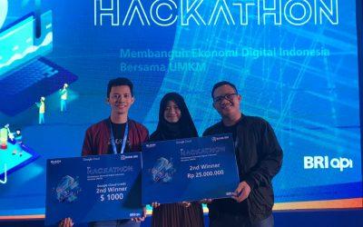 Tiga Mahasiswa PENS Berhasil Torehkan Prestasinya dalam Ajang BRI X Google Hackathon