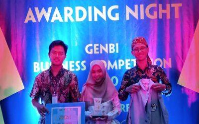 Tiga Mahasiswa SPE Berhasil Menjadi Juara 1 dalam Ajang GenBI Business Plan Competition 2020
