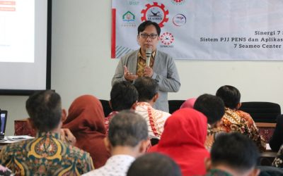Adakan Sosialisasi PJJ, PENS Gandeng 7 SEAMEO Center Indonesia