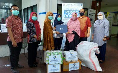 PENS Salurkan Bantuan Paket APD ke RS UNAIR