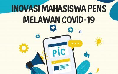 Dorong Inovasi Mahasiswa, PENS Kantongi 11 Judul Karya Inovasi untuk Turut Memberi Solusi Penanganan Pandemi Covid-19