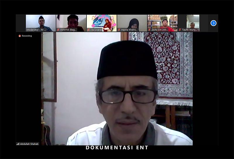 Jalin Silaturahmi di Tengah Pandemi, IKA PENS Helat Halal Bi Halal Alumni PENS 1441 H Secara Virtual