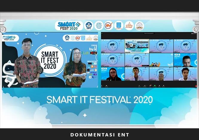 Berinovasi Mendesain Ulang UI/UX Aplikasi Online MIS PENS, Dua Mahasiswa PENS Raih Juara 1 Smart IT Festival 2020