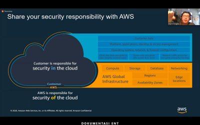 Prodi Teknik Informatika PENS Gelar Kuliah Tamu Online Bersama Amazon Web Service