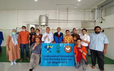 Pengambilan Dokumen Mesin Pasteurisasi Susu Guna Persiapan Launching Produk Inovasi PENS