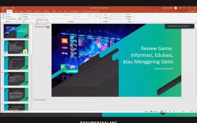 Tingkatkan Kemampuan Review dan Analisa Game, Prodi Game Teknologi Usai Helat Kuliah Tamu