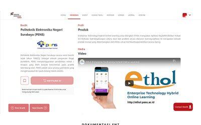 PENS Pamerkan Sembilan Produk Inovasi Unggulan dalam Ajang Inovasi Indonesia Expo 2020