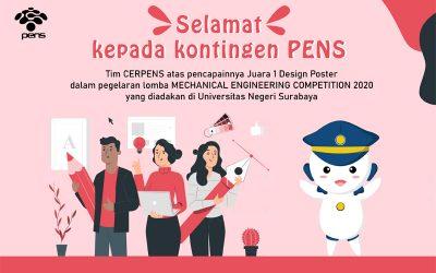 Poster MONITERA, Antarkan Tim CERPENS Menjadi Juara 1