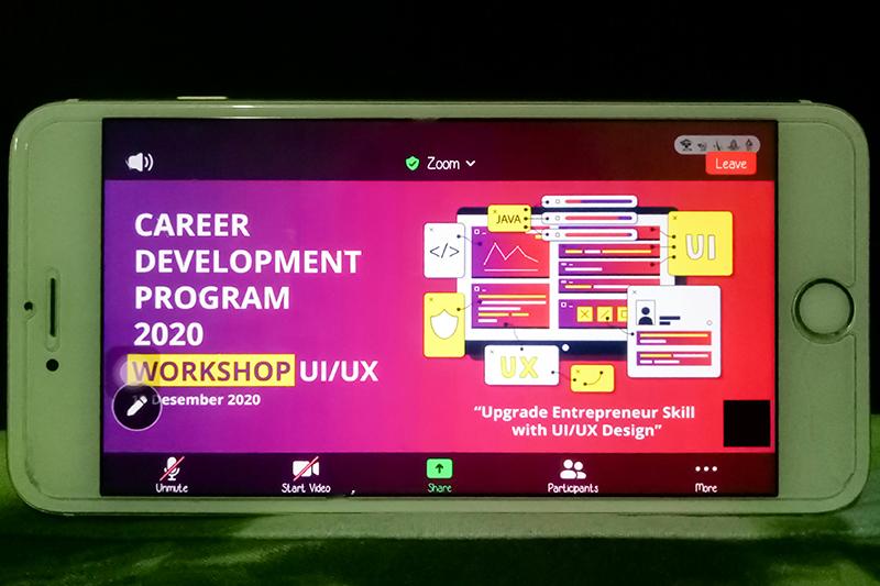 EBIO Helat Workshop UI/UX Untuk Meningkatkan Pengembangan Skill Mahasiswa