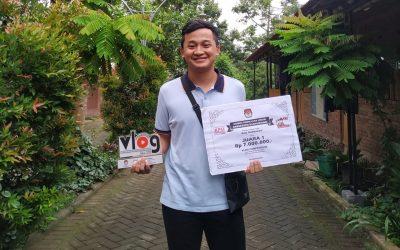 Lomba Vlog Kreatif KPU Banyuwangi : Mahasiswa PENS Sabet Juara 1