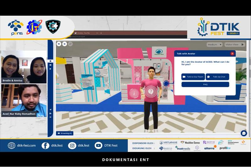 Berlangsung secara Virtual, Departemen Teknik Informatika dan Komputer Sukses Gelar D'TIK Festival 2021