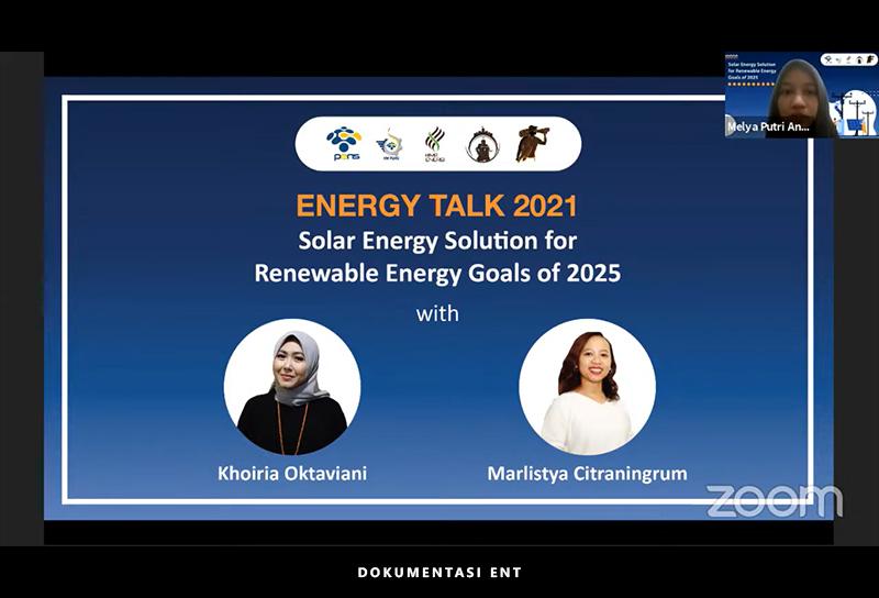 Bekali Wawasan Tentang Energi Terbarukan, Hima Energi PENS Gelar Energy Talk 2021