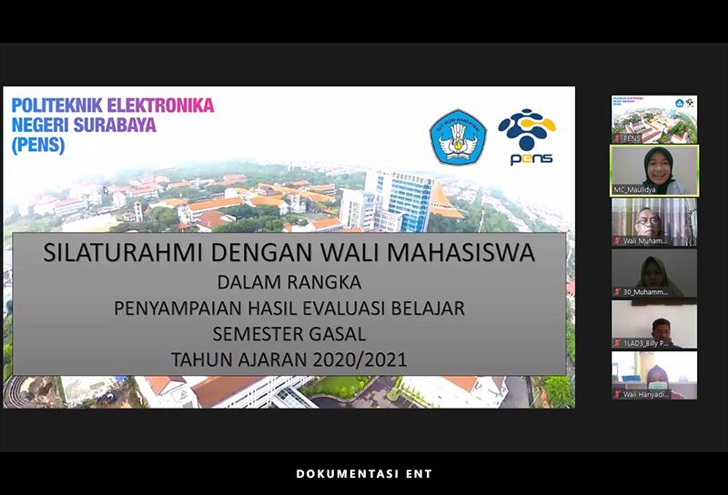 Bentuk Upaya Silaturahmi, PENS Gelar Pembagian Hasil Evaluasi Belajar Mahasiswa Secara Online