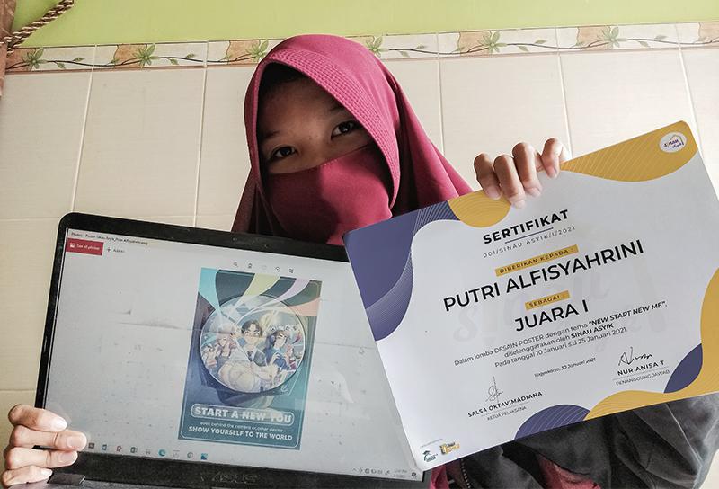 Mahasiswa MMB PENS Sukses Raih Juara 1 pada Ajang Poster Challenge