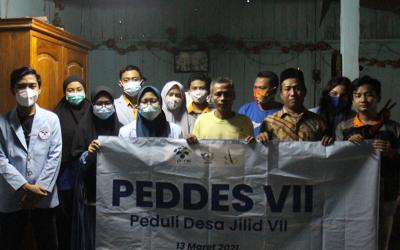 Peduli Desa Jilid VII Tetap Berlangsung dengan Terapkan Protokol Kesehatan
