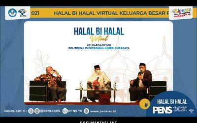 Ajang Menguatkan Kebersamaan, PENS Helat Halal Bi Halal Virtual