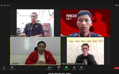 Kobarkan Semangat Pancasila, Sosbang BEM PENS Helat Webinar Diskusi Publik