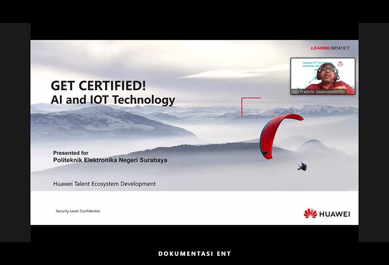 Berkolaborasi dengan Huawei, HIMA Telkom Helat Kuliah Tamu