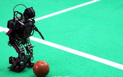 Bersaing Sengit Dengan Empat Tim Lainnya, EROS Berhak Dapatkan Slot Final Lomba Kerjasama Robot (LKR) KRI Wilayah II 2021