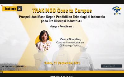Trakindo Goes to Campus: Inisialisasi Awal Kolaborasi PENS dengan Dunia Alat Berat dan Tambang