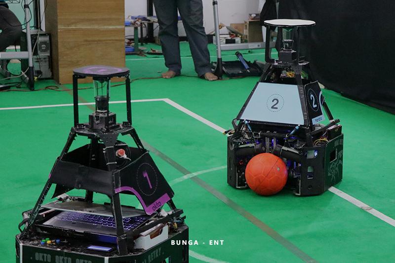 Matangkan Ketangkasan Robot, ERSOW Siap Hadapi Babak Penyisihan KRI Nasional 2021