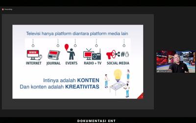 Gelar Webinar MMC 2021, Prodi Multimedia Broadcasting Hadirkan Pakar Videografi Jurnalistik dan Penulis Skenario Film