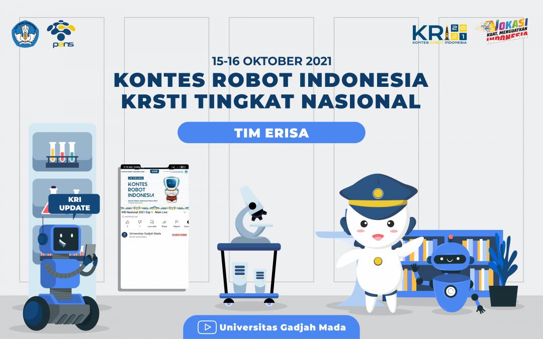 Drawing Urutan Penampilan cabang Kontes Robot Seni Tari Indonesia (KRSTI) dalam Kontes Robot Indonesia (KRI) Nasional 2021