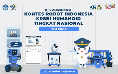 Drawing Urutan Pertandingan Kategori LL, LMB, dan LKR Kontes Robot Sepak Bola Indonesia (KRSBI) Humanoid dalam KRI Nasional 2021