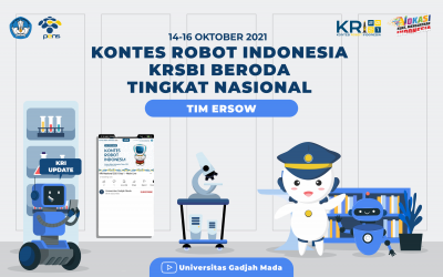 Drawing Urutan Penampilan cabang Kontes Robot Sepak Bola Indonesia (KRSBI) Beroda dalam Kontes Robot Indonesia (KRI) Nasional 2021