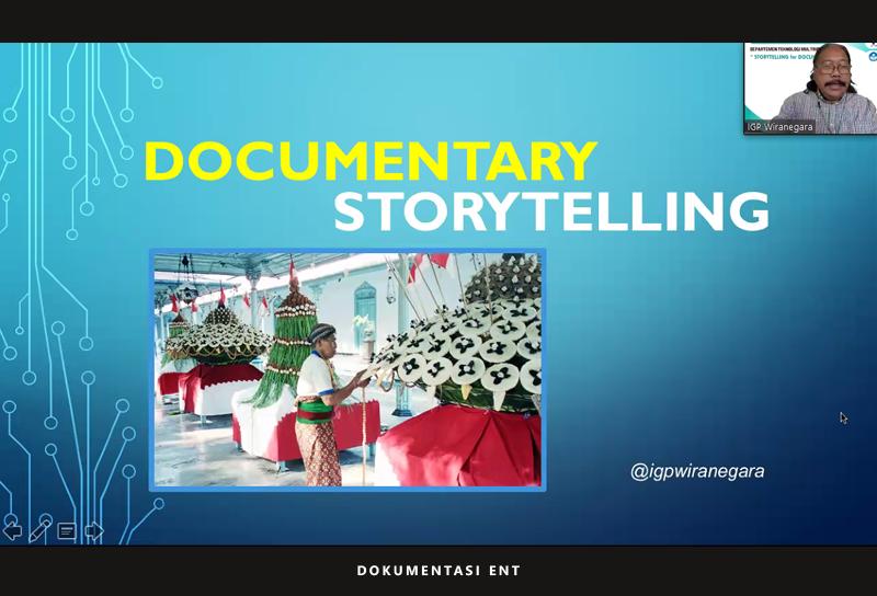 Webinar Perdana TRM PENS, Hadirkan Sutradara Film Dokumenter