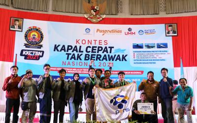Penutupan KKCTBN 2021: Delegasi PENS, Tim Soero Segoro Raih Juara 2